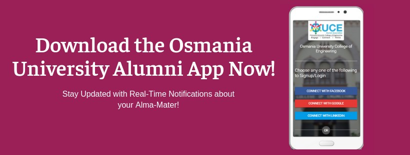 Alumni Connections Now Made Easy  Download the Osmania University