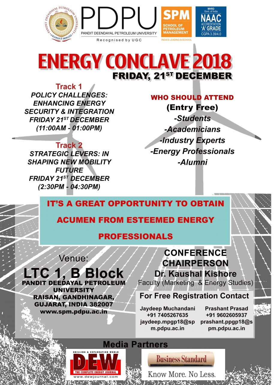 ENERGY CONCLAVE 2018